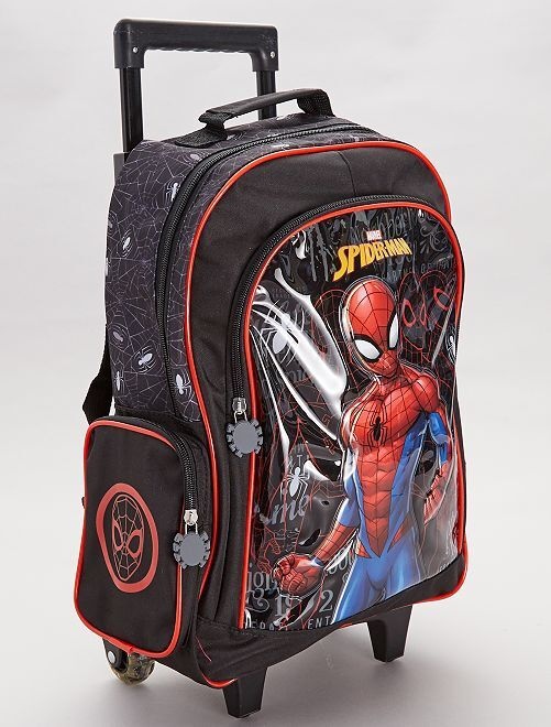 Sac à dos trolley 'Spider-Man'                             noir/rouge