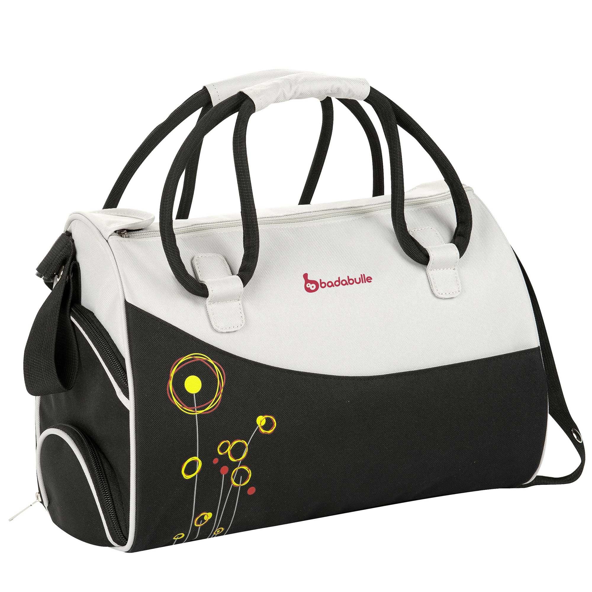 Couleur : gris/anis, gris/prune, noir/gris,, - Taille : TU, , ,,Ce sac à langer très pratique sera votre allié et celui de bébé dans tous vos