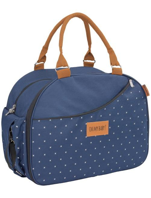 sac langer accessoires 39 badabulle 39 b b fille bleu kiabi 55 00. Black Bedroom Furniture Sets. Home Design Ideas