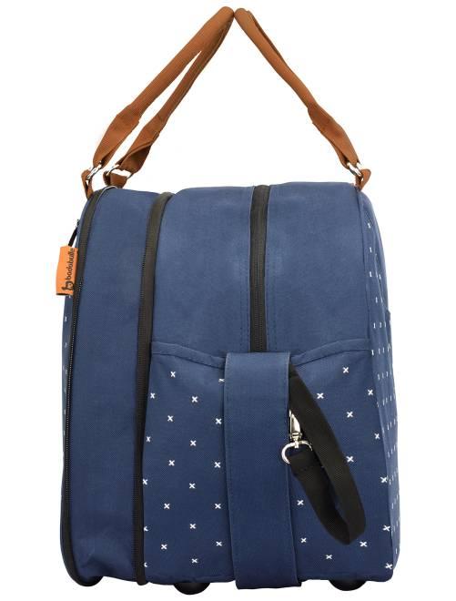 sac langer accessoires 39 badabulle 39 b b fille bleu. Black Bedroom Furniture Sets. Home Design Ideas