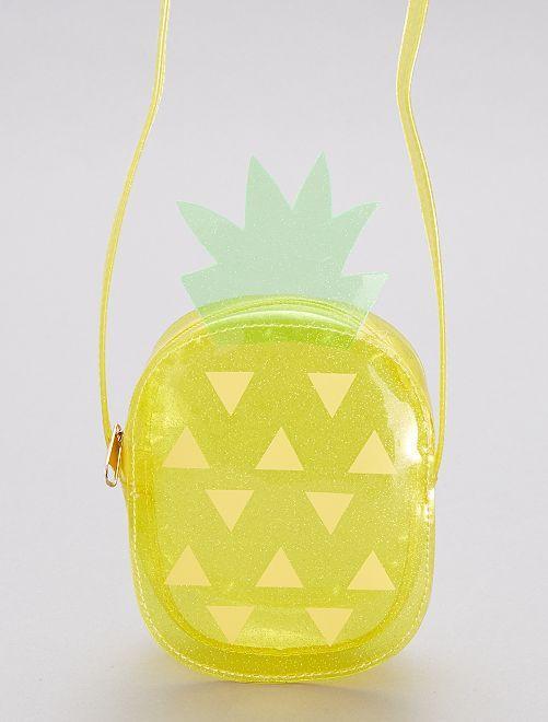 Sac à main 'Ananas'                             jaune