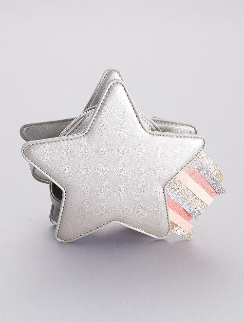Sac à main étoile filante                             argent