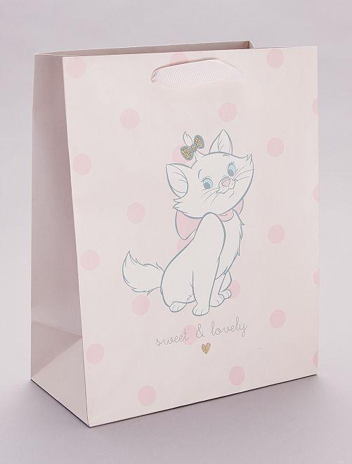 Sac cadeau 'Marie' 'Les Aristochats' 'Disney'                             rose