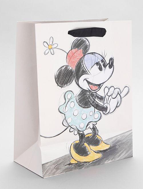 Sac cadeau 'Minnie' 'Disney'                             blanc/rouge/noir