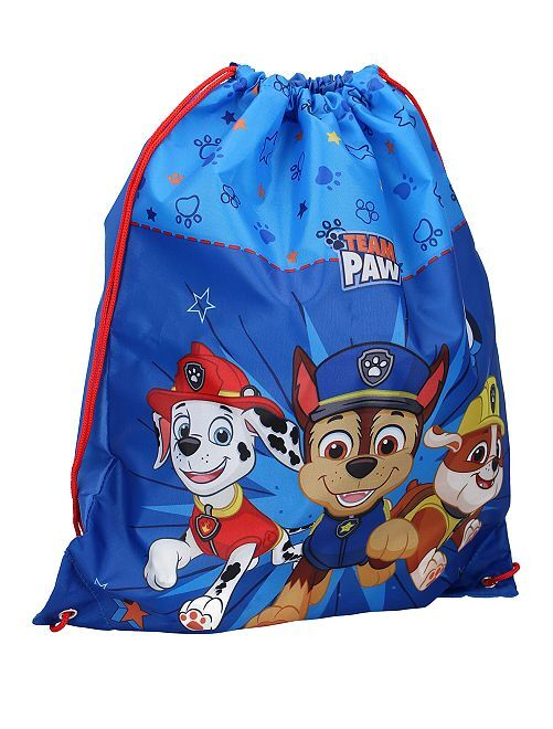 Sac de piscine 'Pat Patrouille'                             bleu
