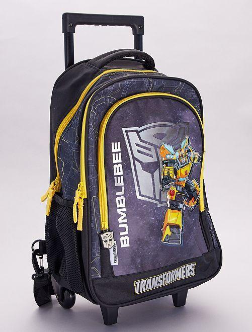 Sac trolley 'Transformers'                             noir/jaune