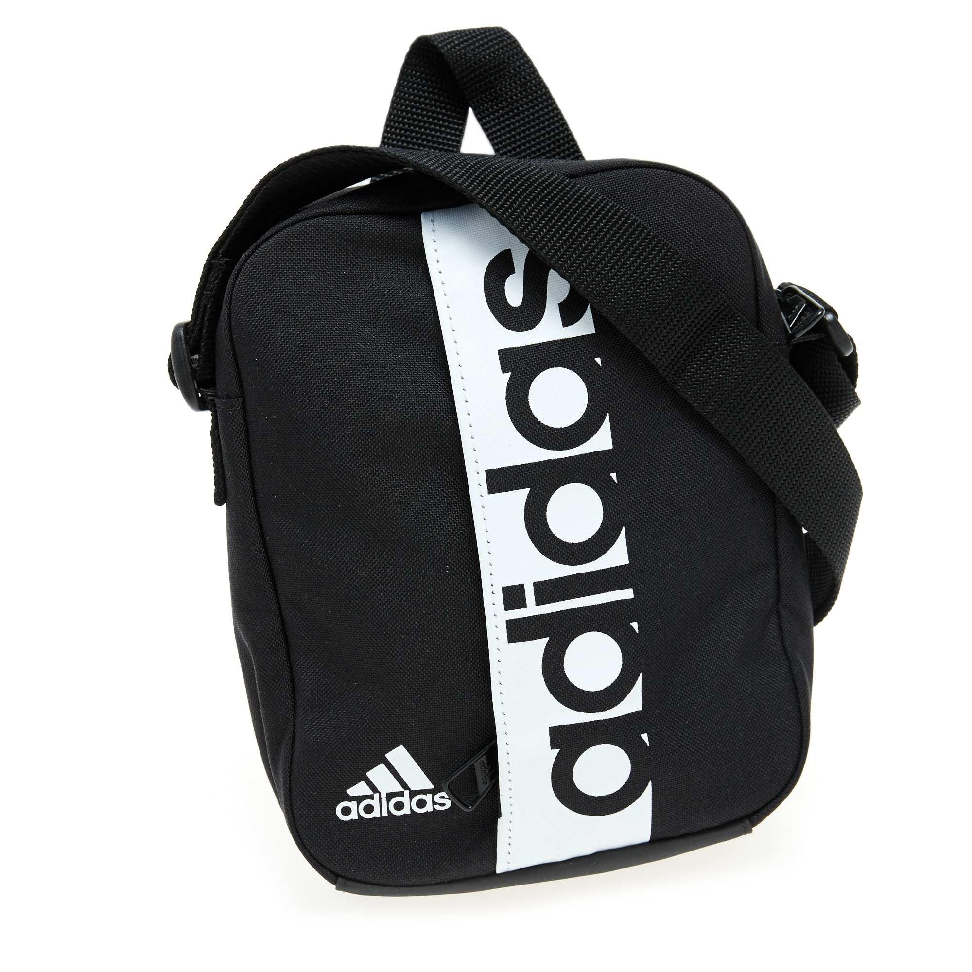 Couleur : noir, , ,, - Taille : TU, , ,,La sacoche 'Adidas' essentielle pour emporter l'essentiel, dans l'esprit sportswear