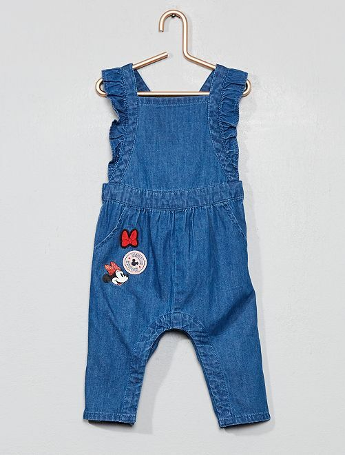 Salopette en denim 'Minnie'                             bleu Bébé fille