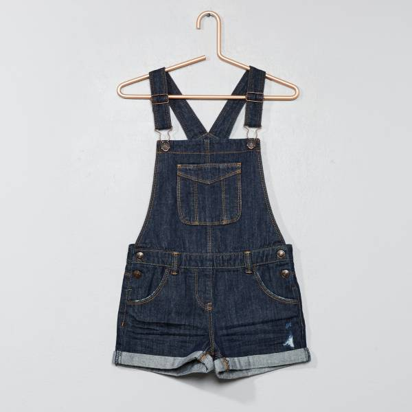 various colors edd40 75b16 Salopette short en denim