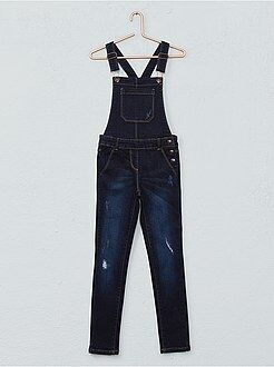 Salopette skinny en denim