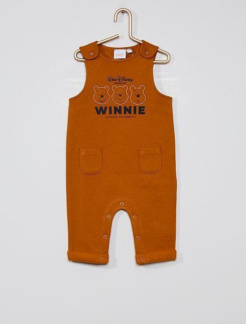 Salopette 'Winnie' éco-conçue                             marron