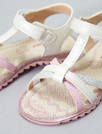 Sandales à scratch - Kiabi