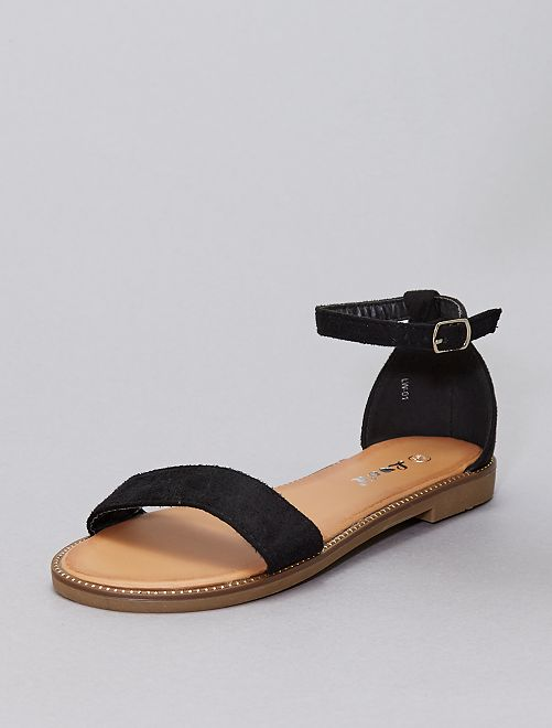 Sandales à strass                                                     noir