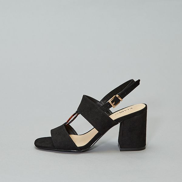chaussure noir talon