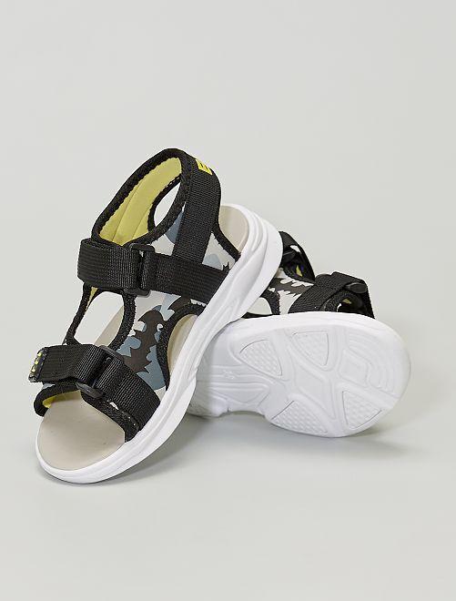 Sandales 'Batman'                             noir