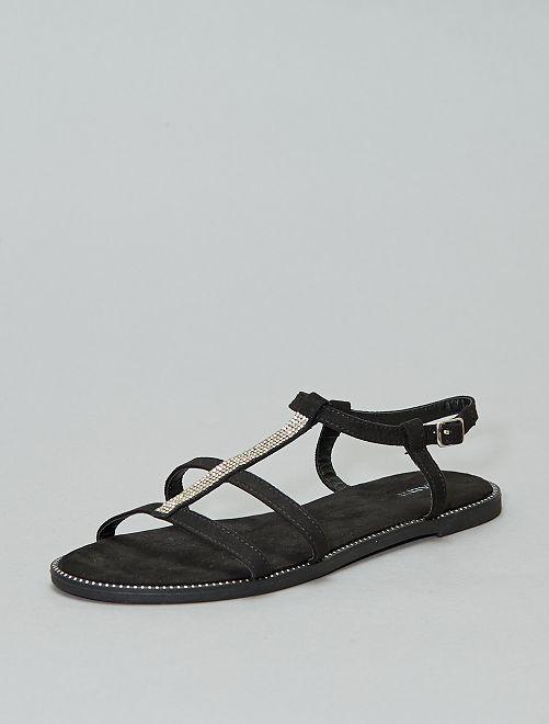 Sandales bijou                             noir Chaussures