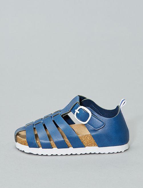 Sandales                                         bleu