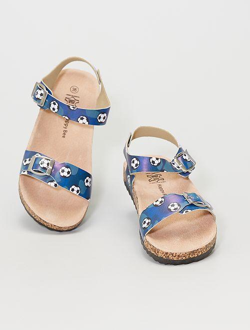 Sandales                             bleu navy