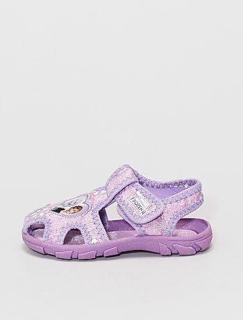 Sandales brillantes 'Reine des neiges' '