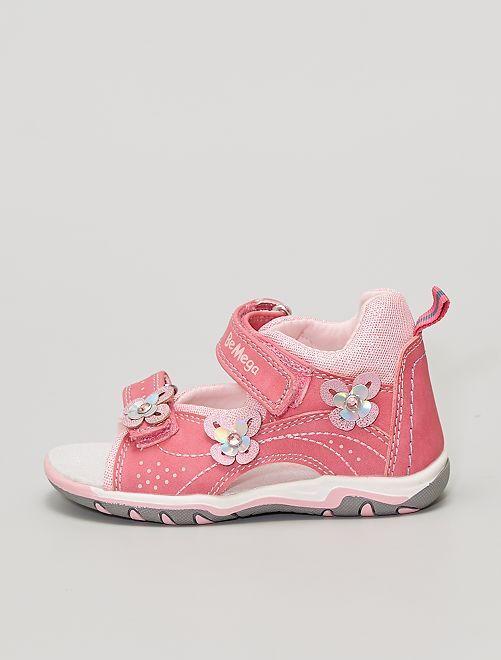 Sandales brillantes                             rose