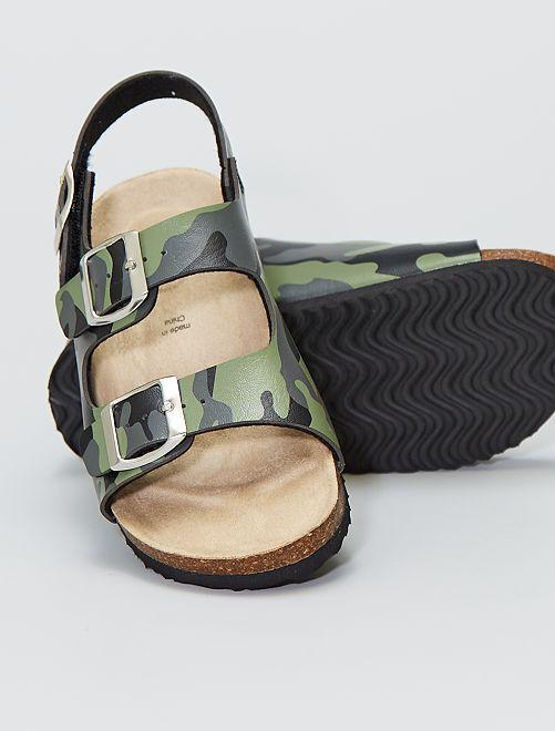 Sandales 'camouflage'                             camouflage