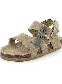 Chaussures, chaussons - Sandales confort en suédine - Kiabi