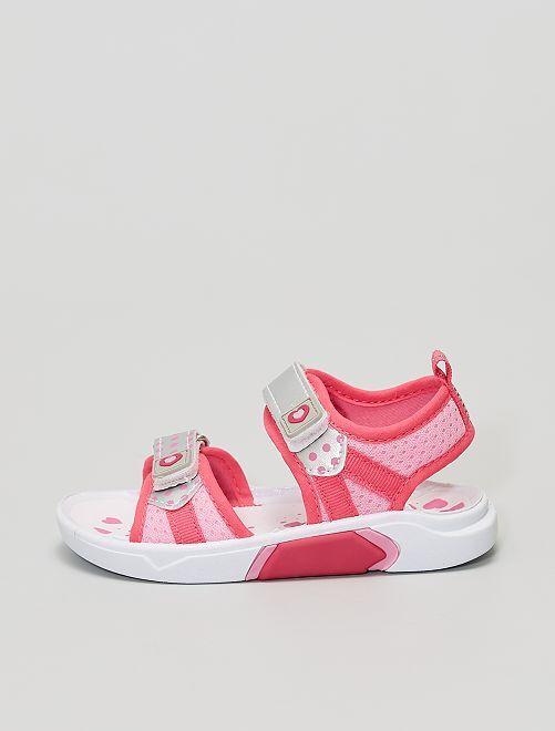 Sandales de sport                             rose