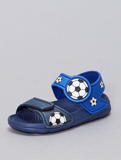 Sandales d'eau                             bleu