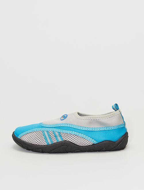 Sandales d'eau en néoprène                                         bleu