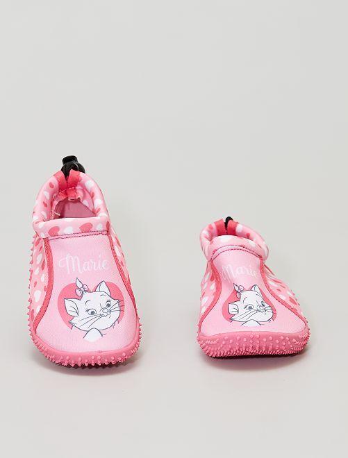 Sandales d'eau 'marie' 'Les Aristochats' 'Disney'                             rose