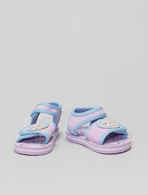 Sandales d'eau 'Reine des neiges'                             rose