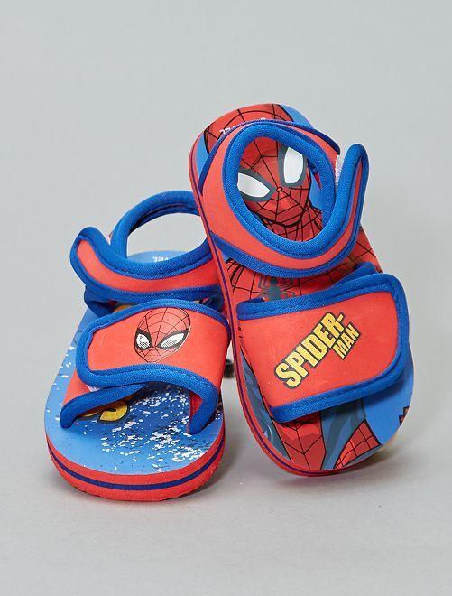 Sandales d'eau 'Spider-Man'                             rouge