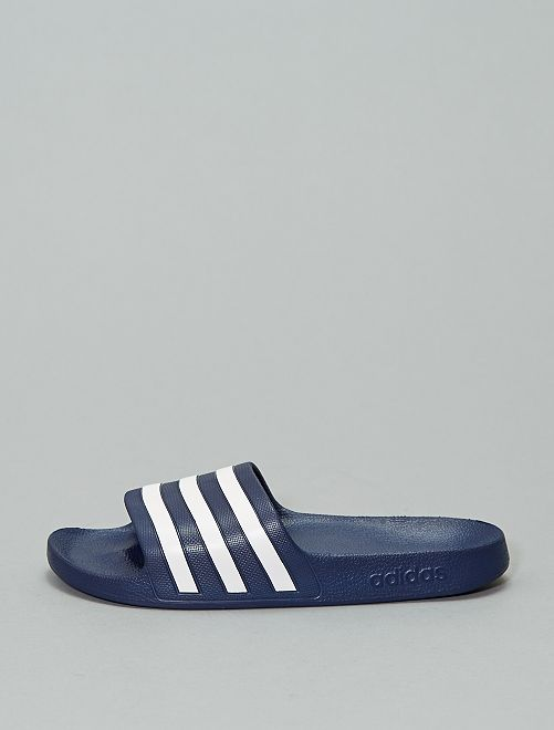 Sandales en plastique 'adidas'                                         bleu marine
