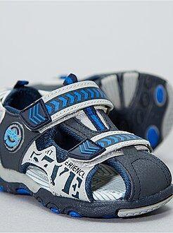 Chaussures, chaussons - Sandales en simili - Kiabi