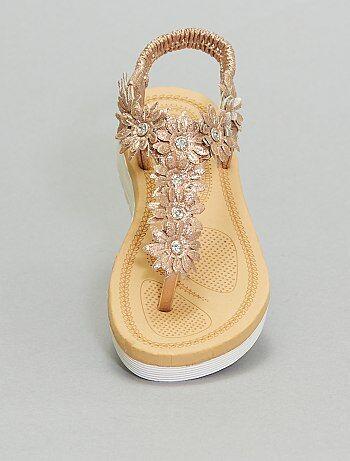 Sandales entre-doigts