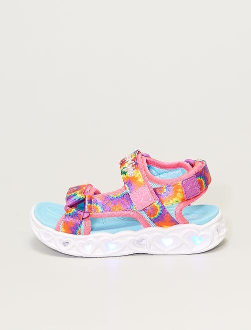 Sandales lumineuses 'Skechers'                             multicolore