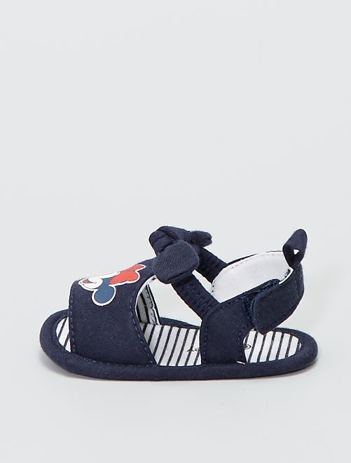 Sandales 'Minnie'                             bleu marine