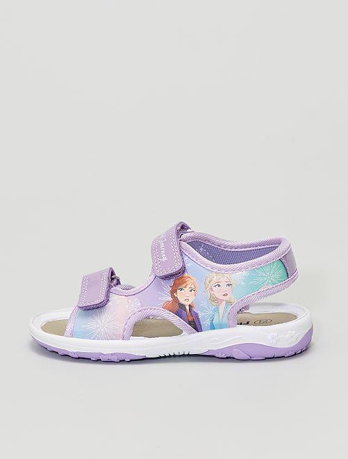 Sandales ouvertes 'La Reine des neiges' 'Disney'                             rose