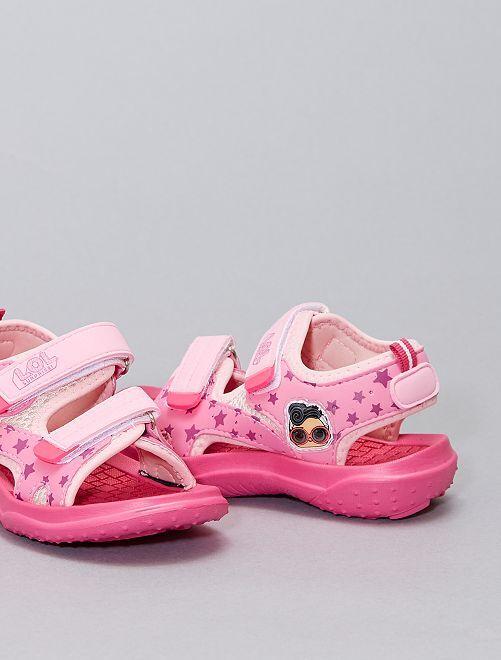 Sandales ouvertes 'L.O.L. Surprise !'                             rose