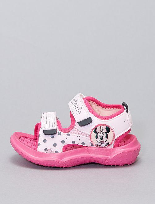 Sandales ouvertes 'Minnie Mouse' 'Disney'                             rose