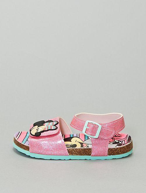 Sandales pailletées 'Minnie Mouse'                             rose
