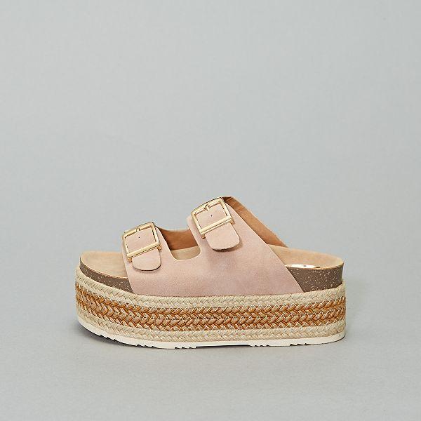 Sandales plateforme 'Xti'