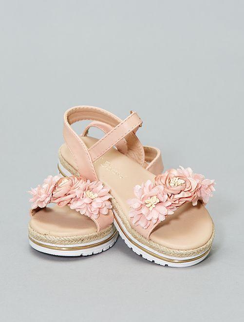 Sandales plateformes                             rose Fille