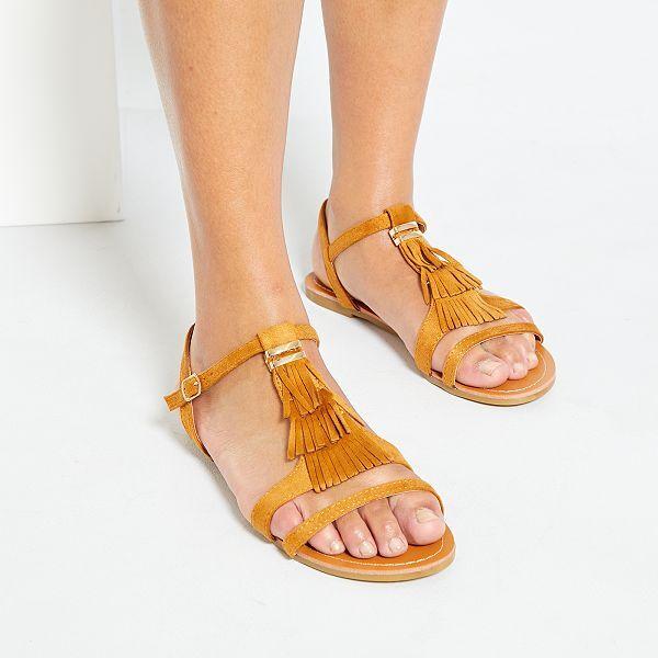 Sandales plates Femme | taille 45 | Kiabi