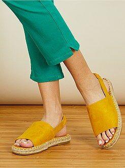 Sandales plates type menorquinas - Kiabi