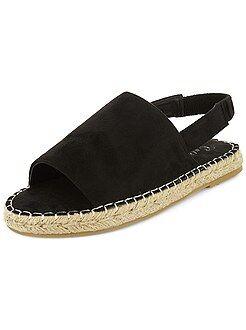 Chaussures - Sandales plates type menorquinas - Kiabi