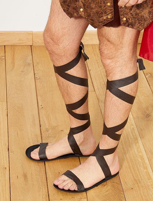 Sandales romaine                             marron Accessoires
