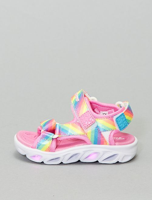Sandales 'Skechers' lumineuses                             multicolore