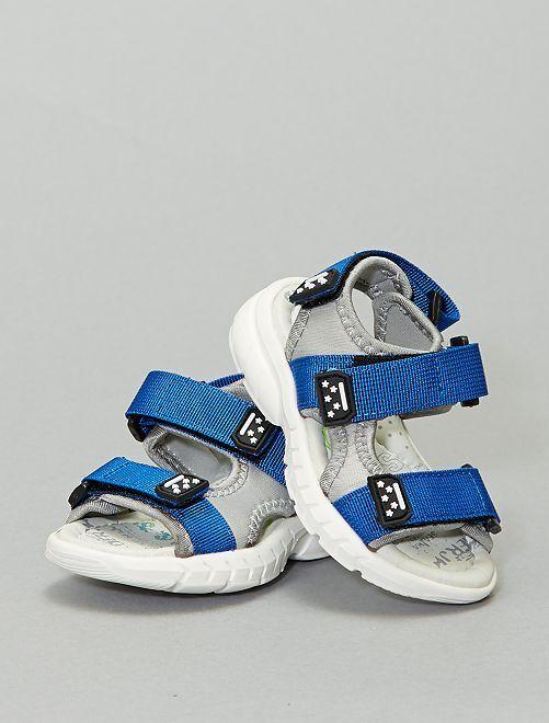 Sandales sport                             gris/bleu
