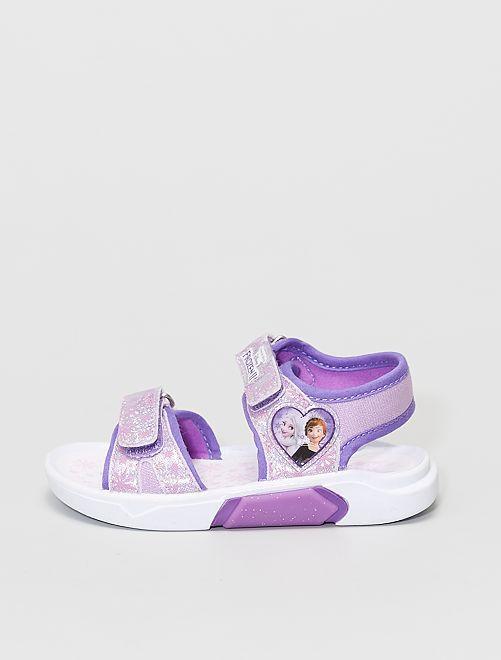 Sandales sport 'La Reine des neiges' 'Disney'                             violet